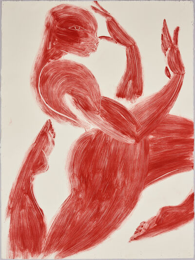 Tunji Adeniyi-Jones, 'Dancing Figure II', 2018
