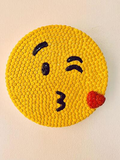 Alessandra Pierelli, 'Kiss Emoji', 2017