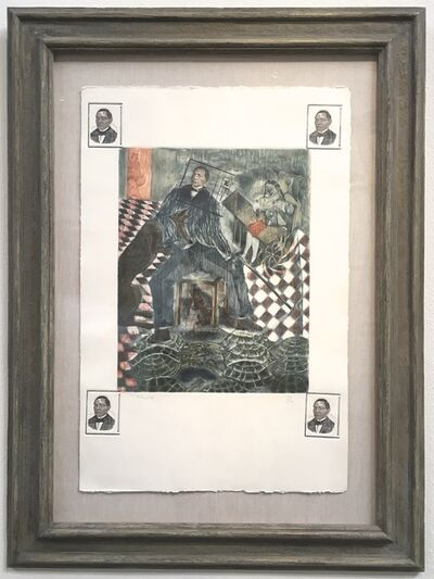 Francisco Toledo, 'El Vento de Juarez', 1986