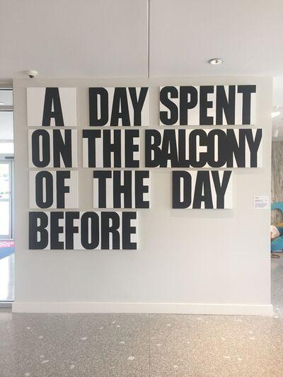 Buy Shaver, 'A Day Spent (calendar piece)', 2018
