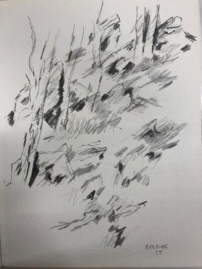 Jean Bazaine, 'Dessin 1955', 1958
