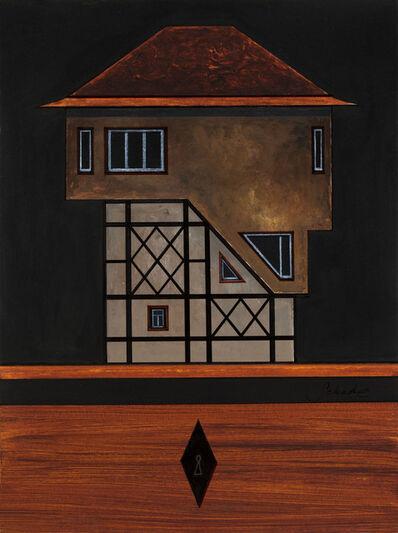 Titus Schade, 'Modellhaus Typ: Modernes Fachwerkhaus mit Betonüberbau', 2018