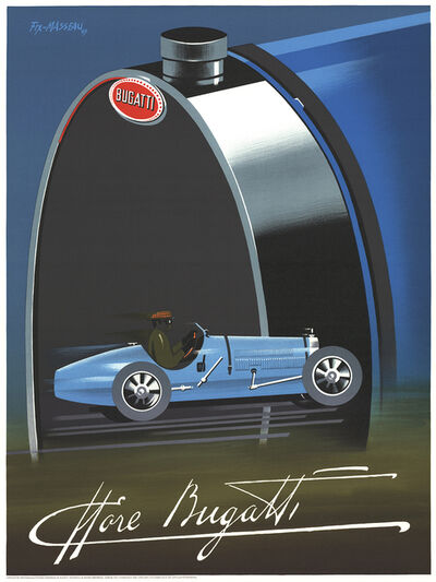 Pierre Fix-Masseau, 'Bugatti', 1989