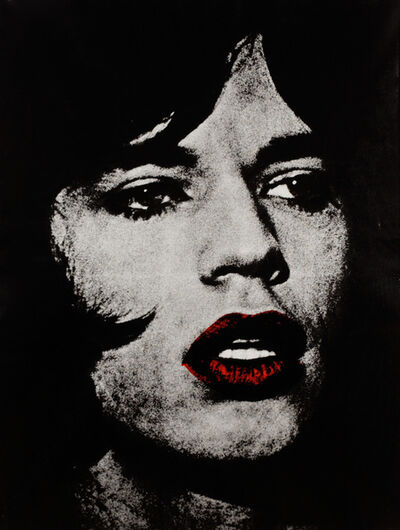 "Russell Young, 'Mick Jagger ""Reggie Kray, Do You Know My Name""', 2010"