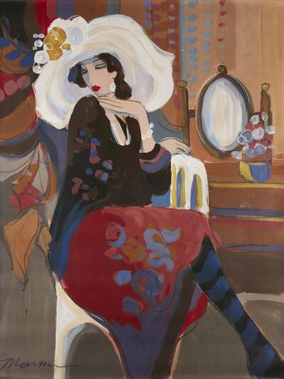 Isaac Maimon, 'Woman seated in an interior'