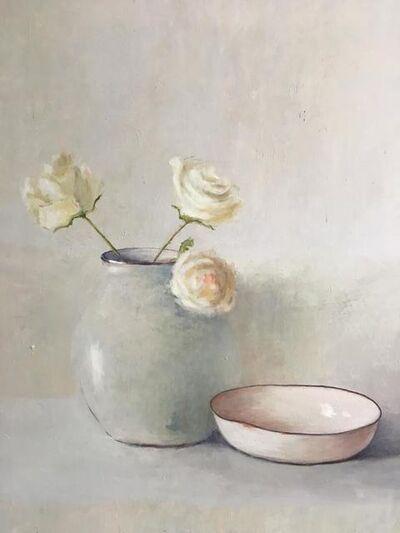 MARTA GÓMEZ DE LA SERNA, 'White roses', 2019