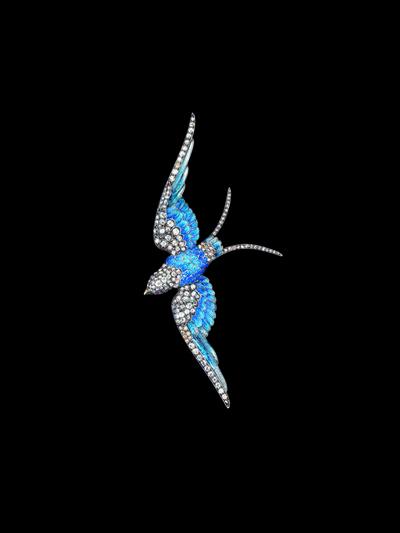Various Artists, 'Blue Bird', ca. 1880