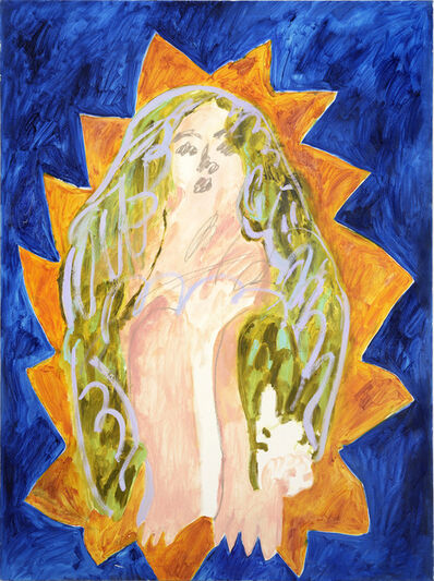 Faye Wei Wei, 'Blue Madonna', 2015