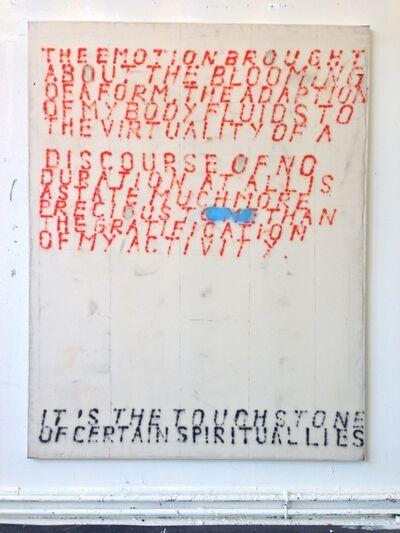 Fabian Herkenhöner, 'Untitled (Touchstone)', 2019