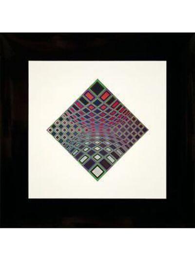 Victor Vasarely, 'Ond-Kett', 1973