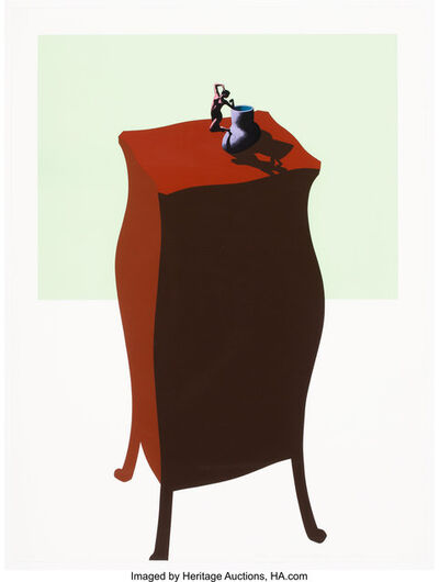 Ken Price, 'French Figurine Cup, from Interior Series', 1971