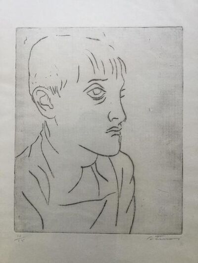 Cândido Portinari, 'Retrato', ca. 1950