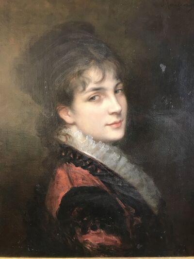 Jules James Rougeron, 'Portrait', ca. 1860