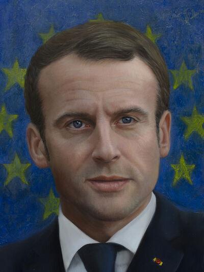 Shana Levenson, 'Emmanuel Macron', 2019