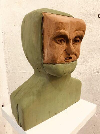 Matthew Dennison, 'Green Hood', 2021