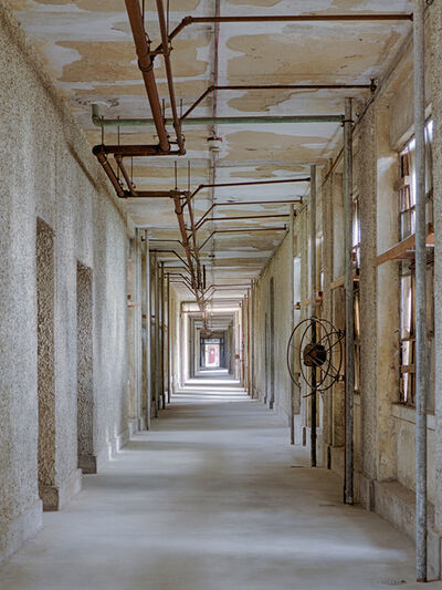 Lee Backer, 'Corridor, Ellis Island Hospital', 2017