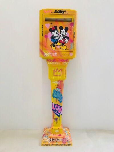 FAT, 'Mickey & Minnie Mailbox', 2019
