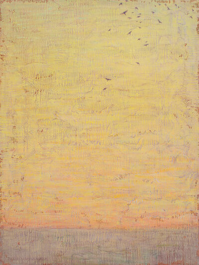David Grossmann, 'Sunset Sky, Gathering Ravens', 2019