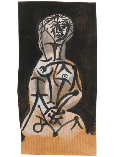 Pablo Picasso, 'Femme (Projet de céramique)', 1951