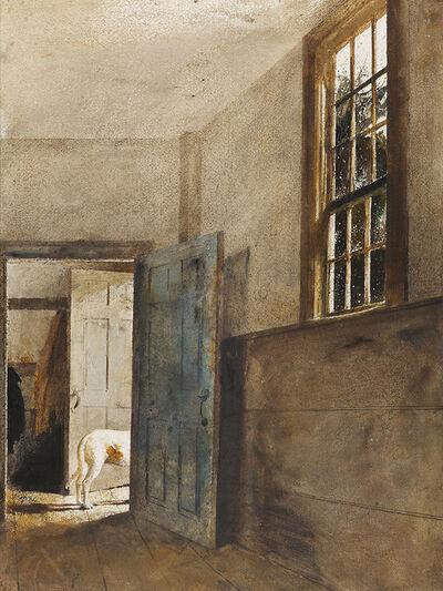 Andrew Wyeth, 'Bad Weather', 1975