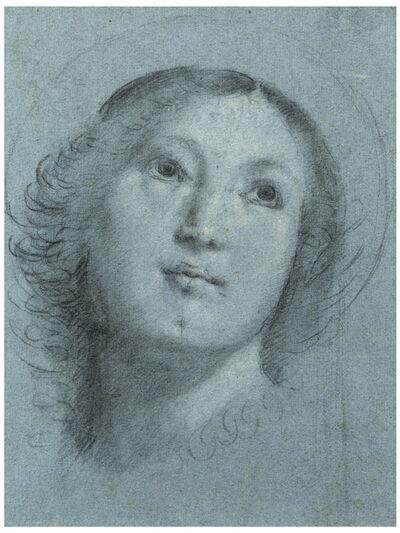 Bernardino Lanino, 'Head of a Female Saint', ca. 1560