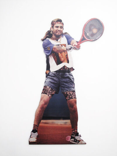 Robert Heinecken, 'Andre Agassi as Rebel', 1994/1997