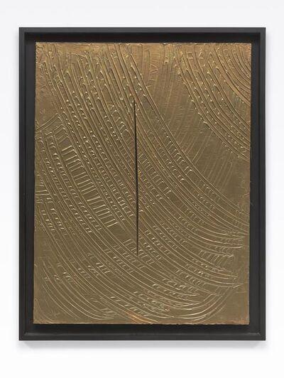 Lucio Fontana, 'Concetto spaziale', 1961