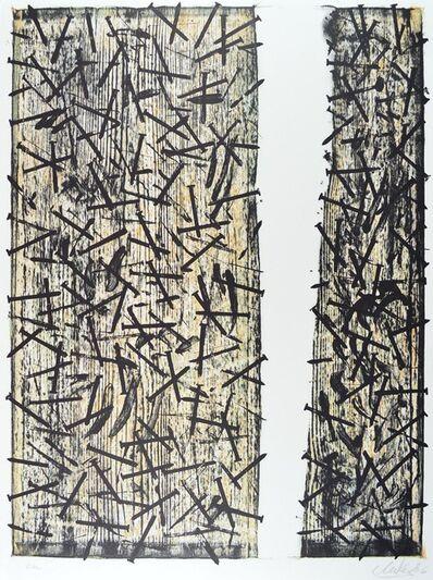 Günther Uecker, 'Lohengrin', 1980-1990