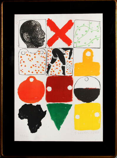 Joe Tilson, 'Against Apartheid', 1983