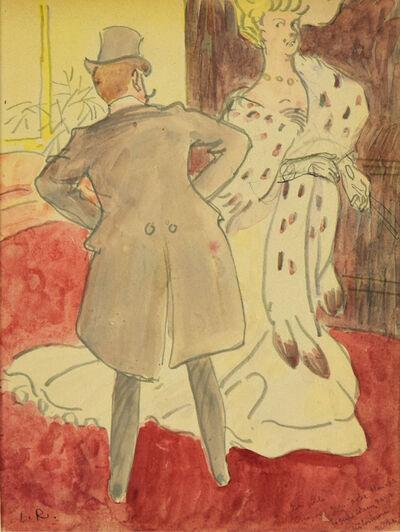 Ludovic-Rodo Pissarro, 'At the Ball', Executed circa 1905