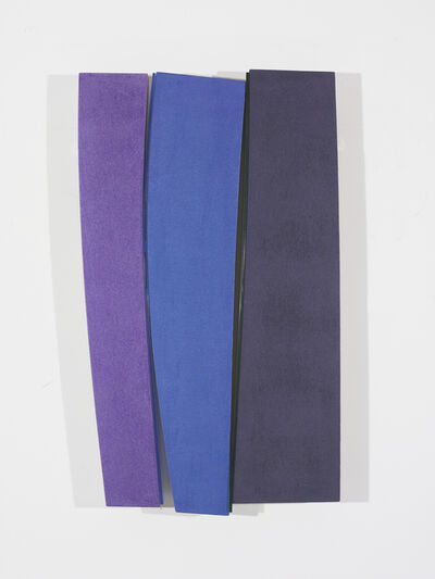 Kenneth Noland, 'Flares: Levity', 1991