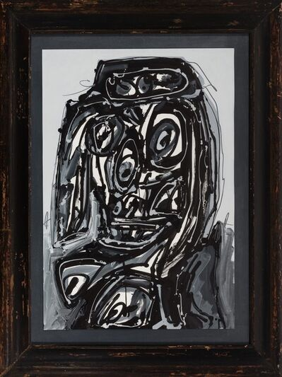 Antonio Saura, 'DAMA ', 1985