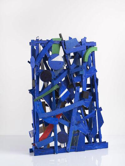 Jan Voss, 'Projet bleu', 2017