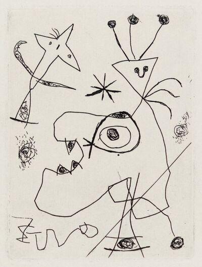 Joan Miró, 'L'Aigrette', 1956