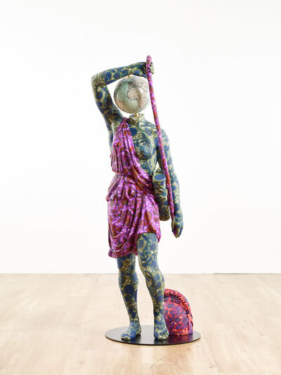 Yinka Shonibare CBE, 'Statue of Wounded Amazon (after Phidias)', 2019
