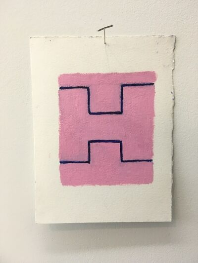 Chris Esposito, 'Pink: blue (H)', 2019