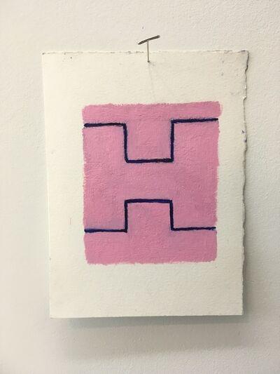 Chris Esposito, 'Pink: blue (H)', 2019