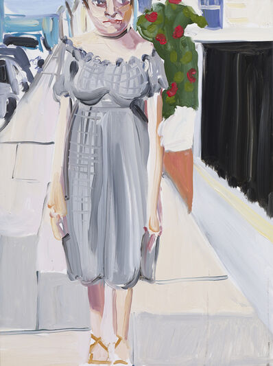 Chantal Joffe, 'Moll by Marina', 2017