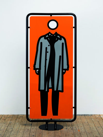 Julian Opie, 'Man Waiting', 2006
