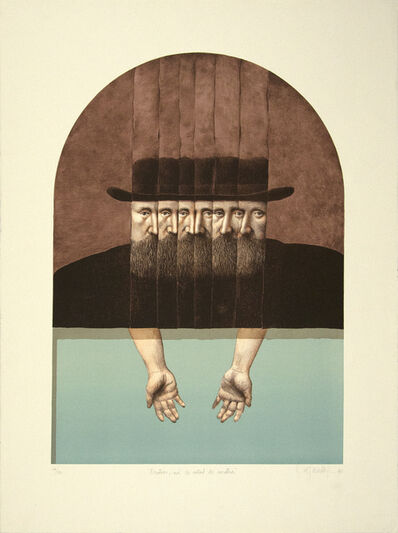 Alfredo Castaneda, 'Nosotros Mas la Mitad de Nosotros (Us plus half of us)', 1990