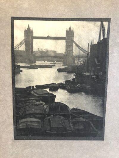 "Alvin Langdon Coburn, '""Tower Bridge""', 1909"
