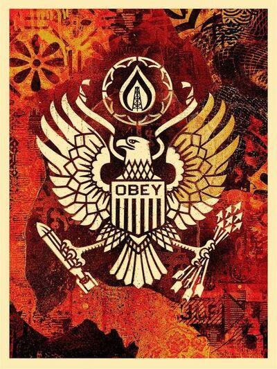 """Shepard Fairey, '""""Keep It Underground""""', 2015"""