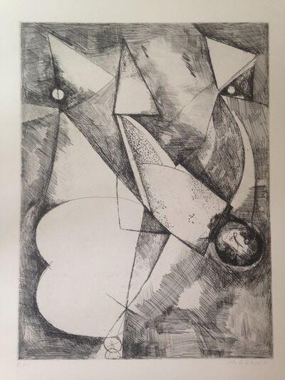 Marino Marini, 'La caduta/the fall', 1962