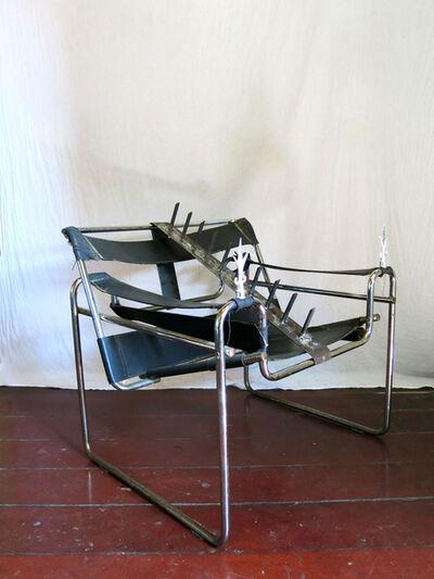 Daniel Murgel, 'Design da Turbação - Ofendículo Fita para Cadeira do Marcel Breuer [Design of Disturbance - Barrier Fita to Chair By Marcel Breuer]', 2015