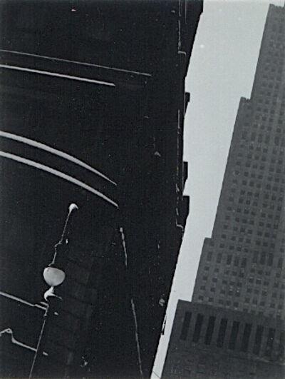 Minor White, 'Diagonal Buildings, West 53rd Street, New York', 1946