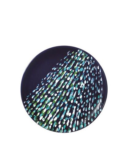 Piero Dorazio, 'Plate in enameled ceramic', made in 1987
