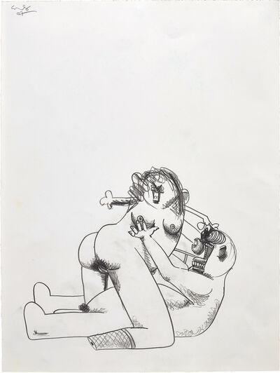 George Condo, 'Adam and Eve', 2007
