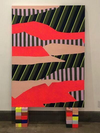 Natalie Lanese, 'Shape Tectonics (Orange)', 2021