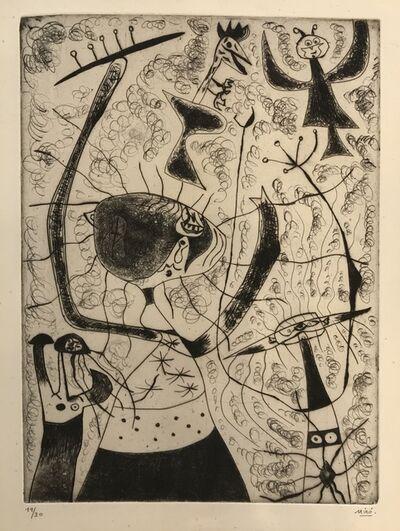Joan Miró, 'Trois Sœurs', 1938