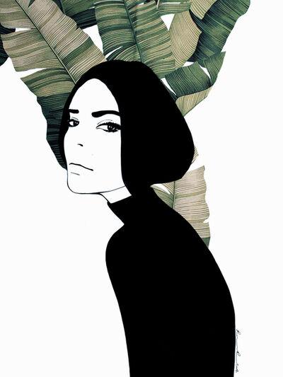 Ramona Russu, 'The girl with black hair/ Maquis 1', 2019